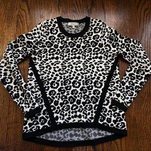 Milly Animal Print Sweater